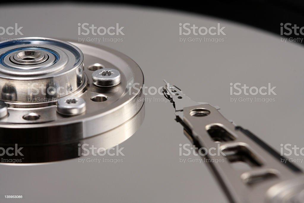 Festplatte Festplatte speichern Lizenzfreies stock-foto