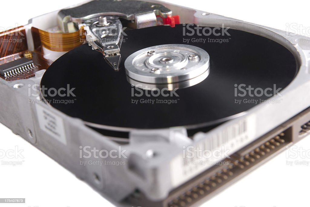 Hard drive stock photo