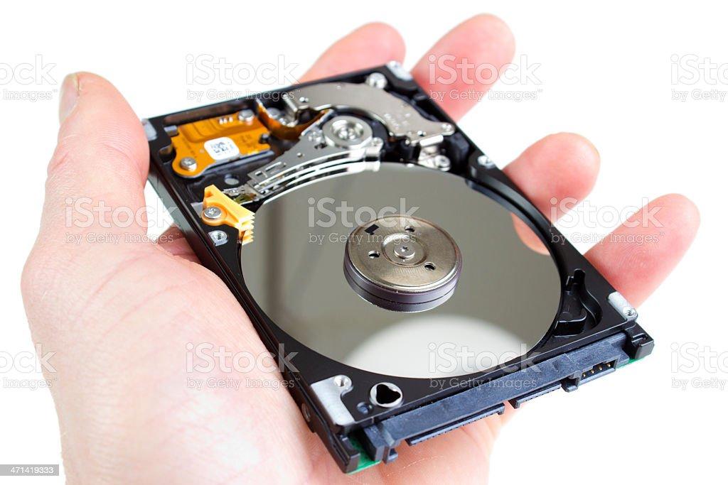 2.5' hard drive royalty-free stock photo