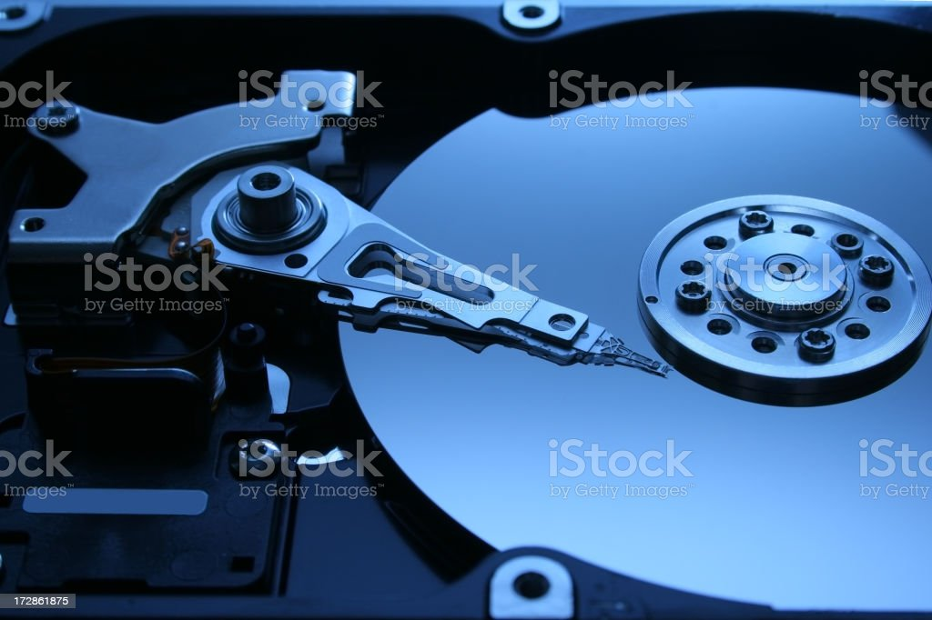 Hard drive series royalty-free stock photo