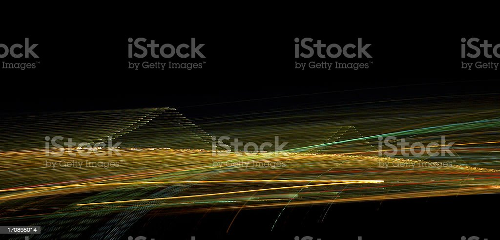 Hard edge light blur stock photo
