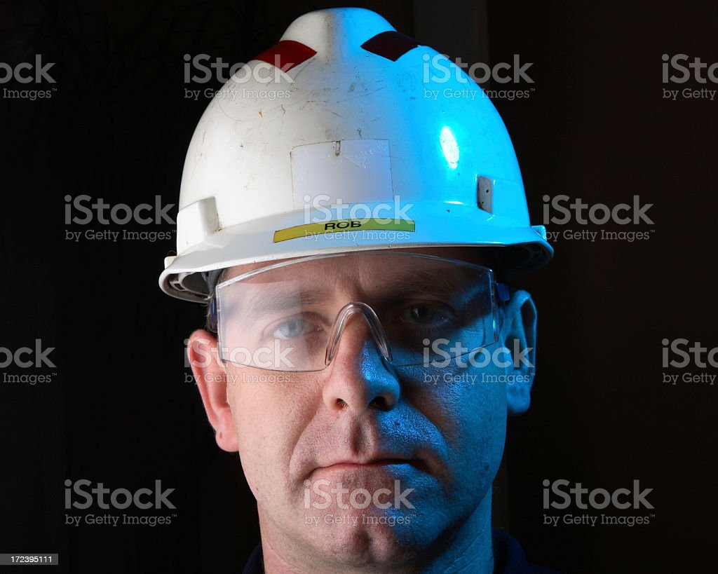 Hard hat royalty-free stock photo