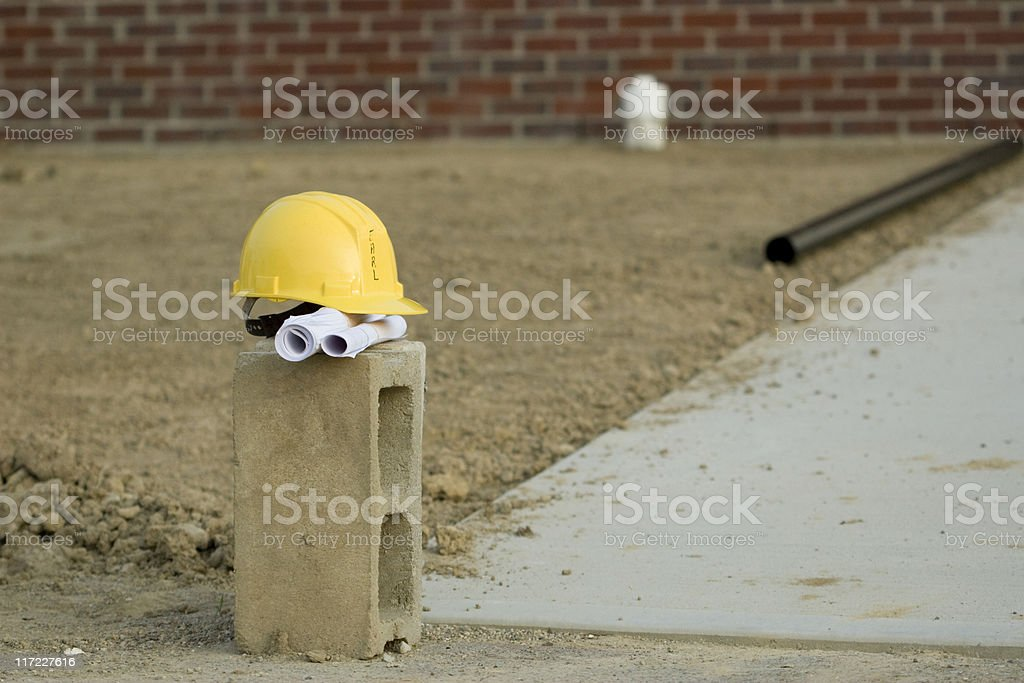 Hard Hat 9 royalty-free stock photo