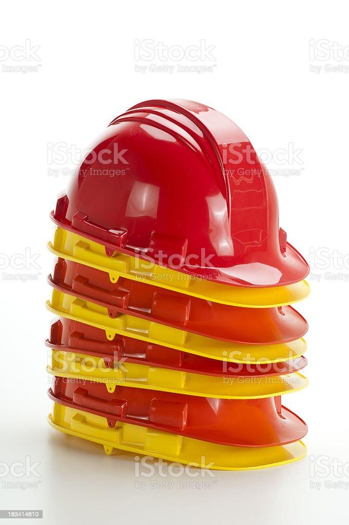 Hard Hats royalty-free stock photo
