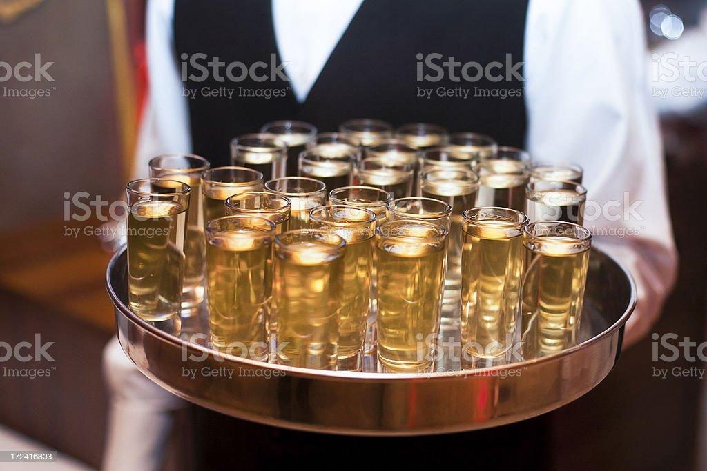 Hard liquor stock photo