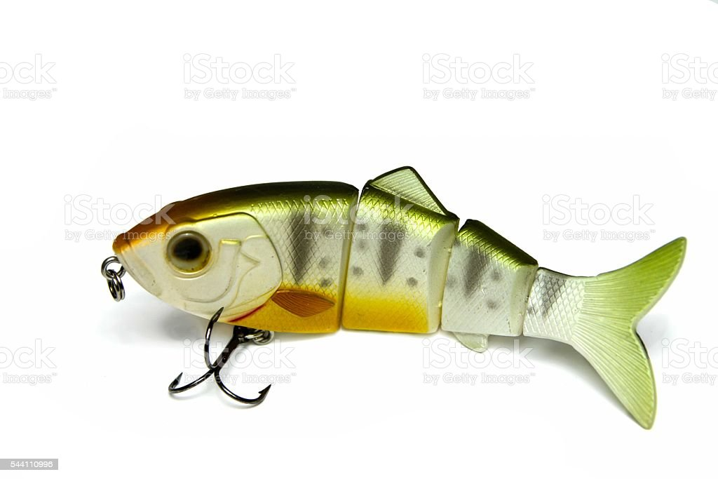 Hard Lures, Jerk stock photo