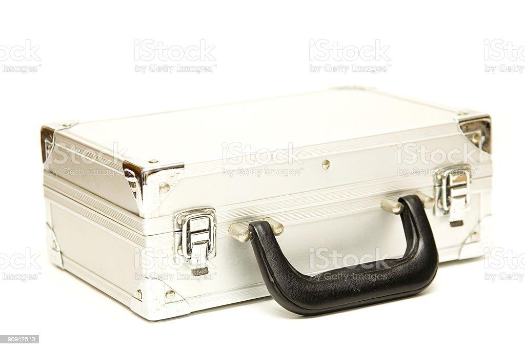 Hard Metal Case royalty-free stock photo