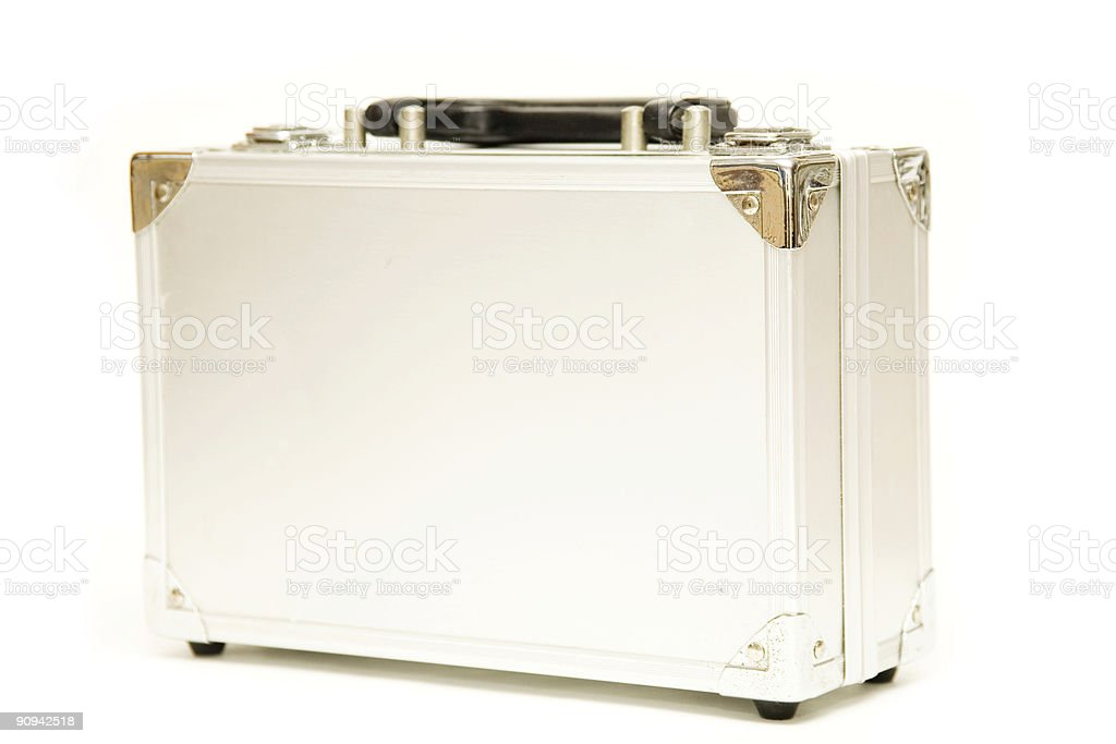 Hard Metal Case royalty-free stock photo