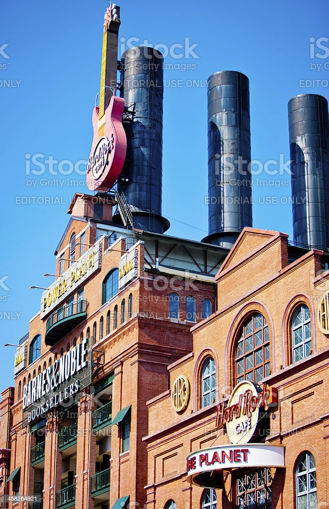 Hard Rock Cafe in Baltimore, USA stock photo