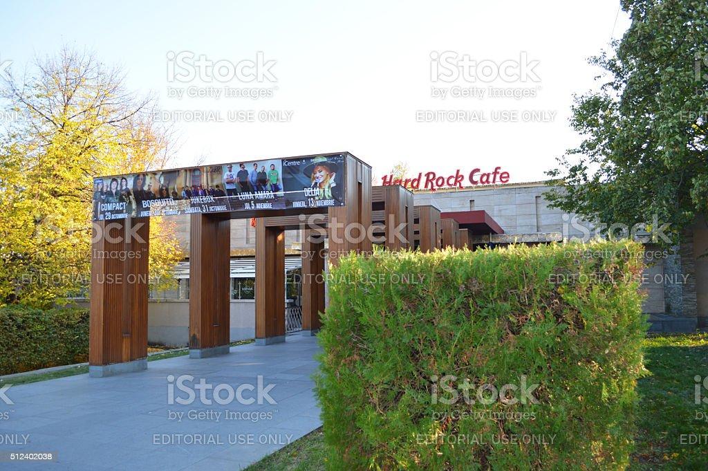 duro roca café de Bucarest foto de stock libre de derechos