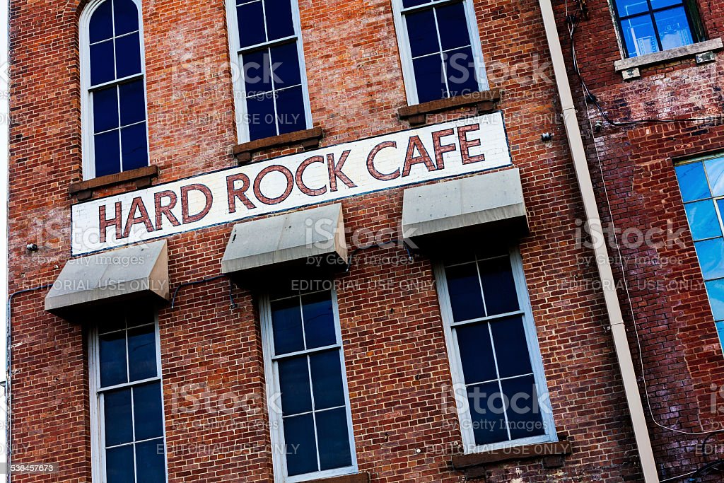 Hard Rock Cafe in Nashville, Tennessee, USA stock photo