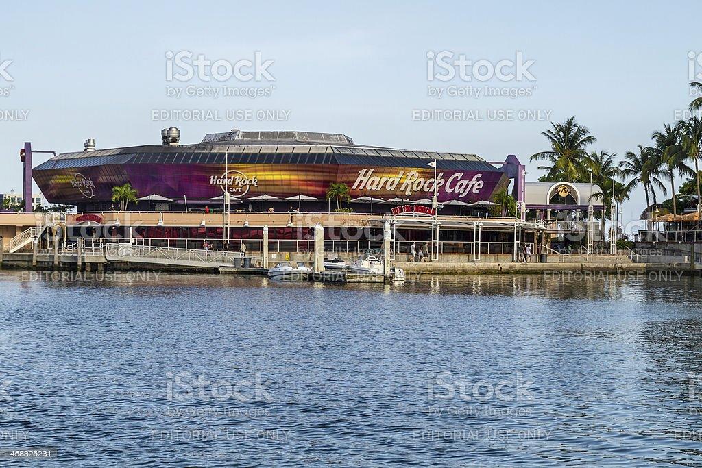 Hard Rock Cafe. Miami, Florida, USA royalty-free stock photo