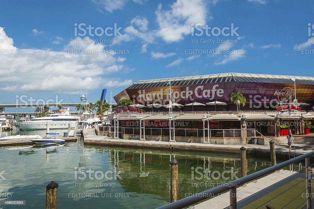 Hard Rock Cafe Miami royalty-free stock photo