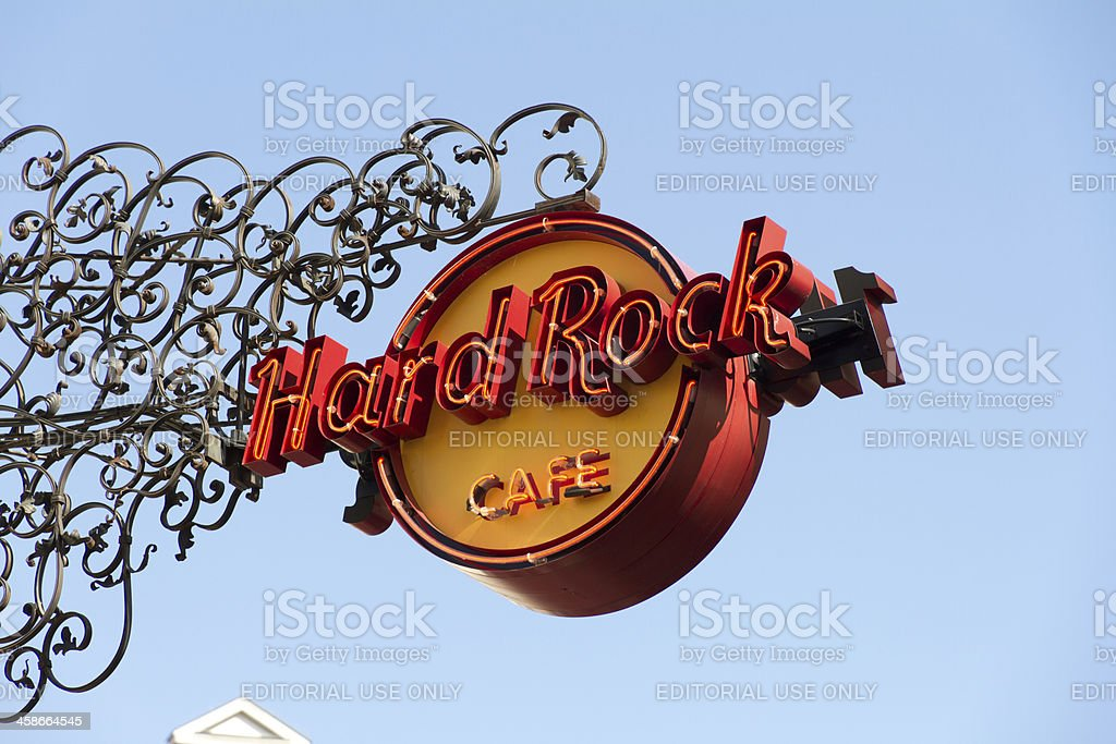 Hard Rock Cafe - Munich stock photo