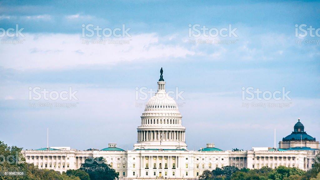 Hard Times in Washington D.C., USA stock photo
