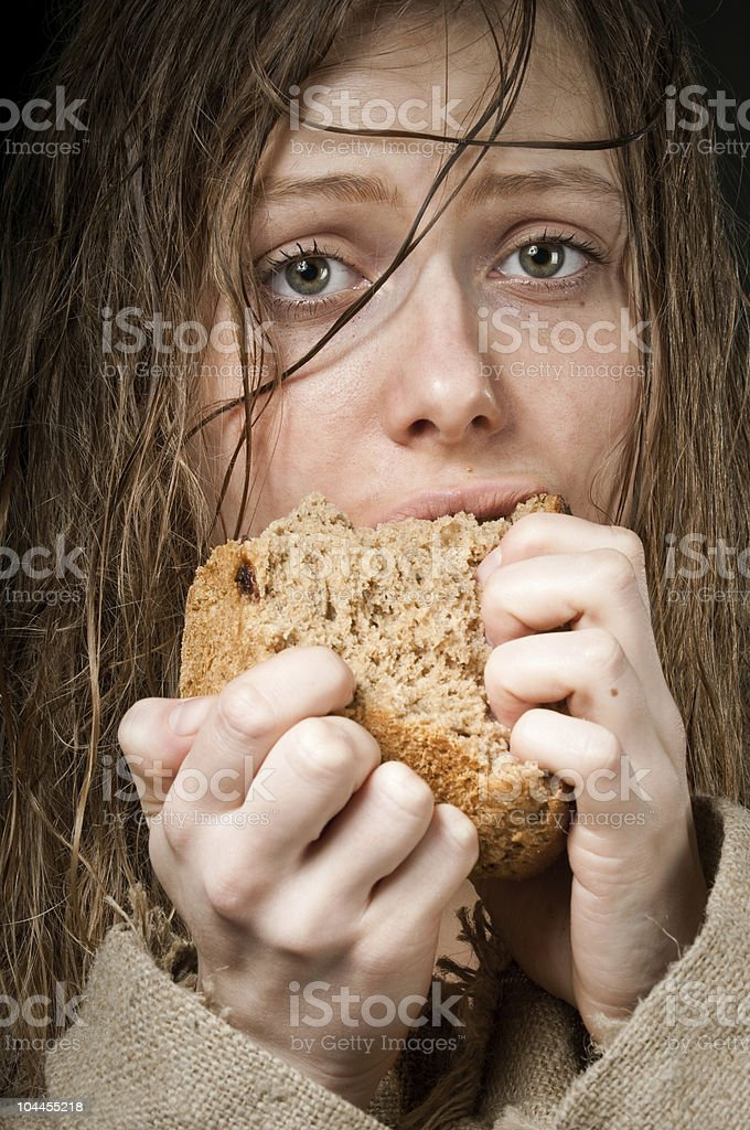 hard times stock photo