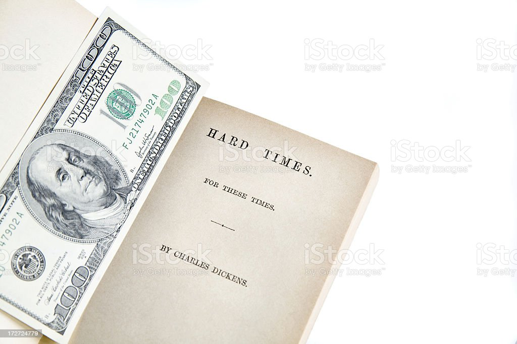Hard Times. royalty-free stock photo