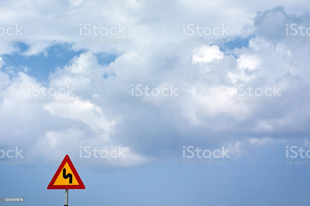 hard way to heaven stock photo
