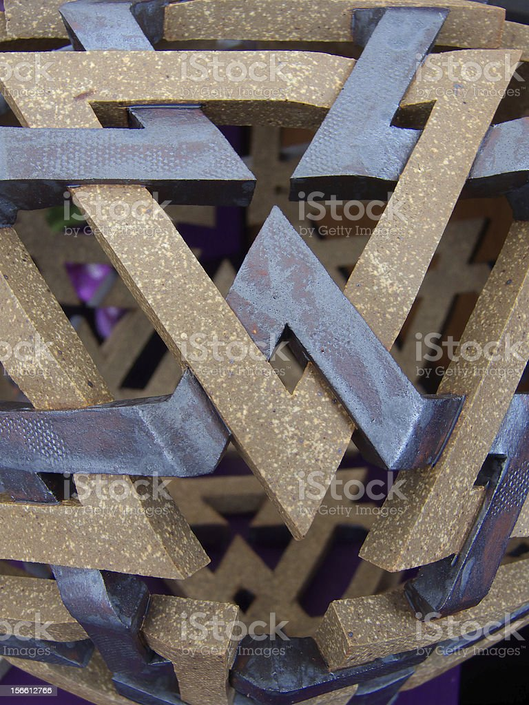 Hard Weave royalty-free stock photo
