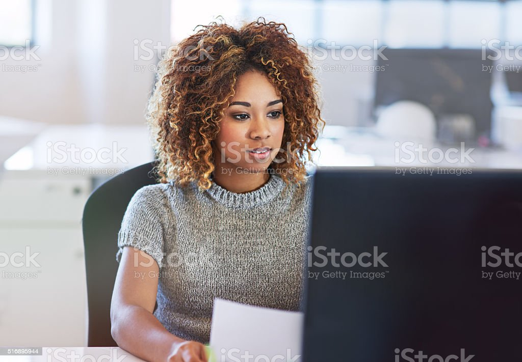 Hard work and success go hand in hand stock photo