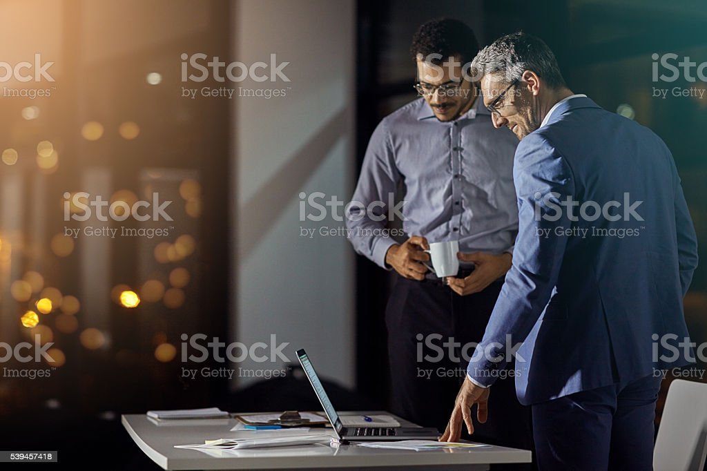 Hard work pays off royalty-free stock photo