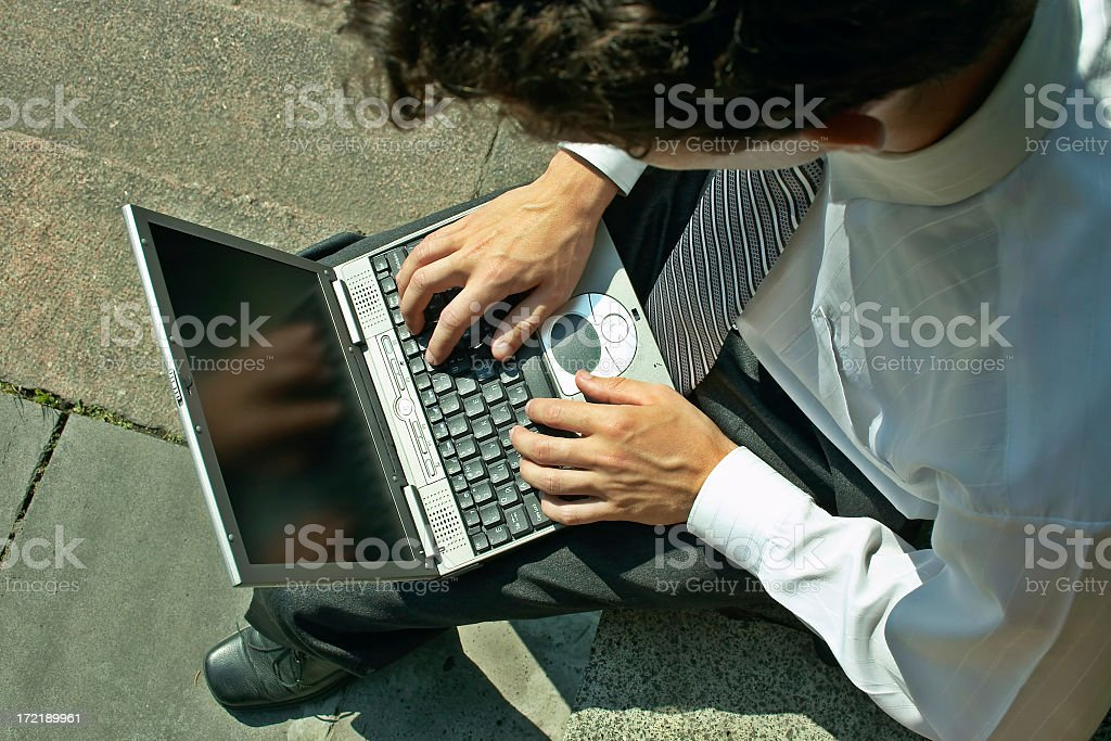 Hard worker royalty-free stock photo