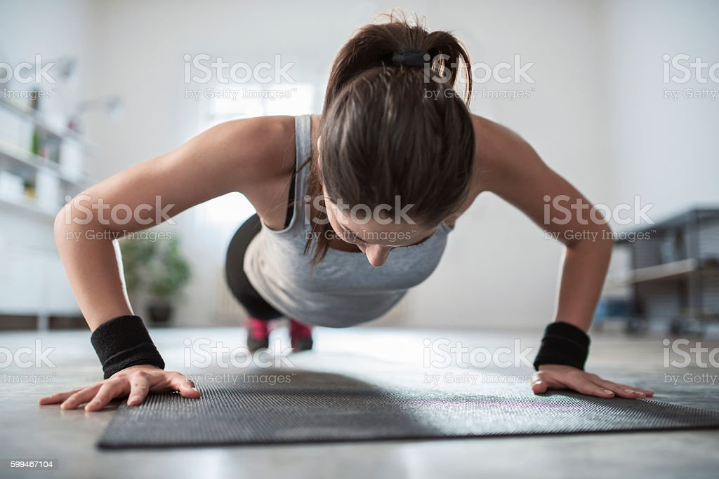 Hard Workouts stock photo