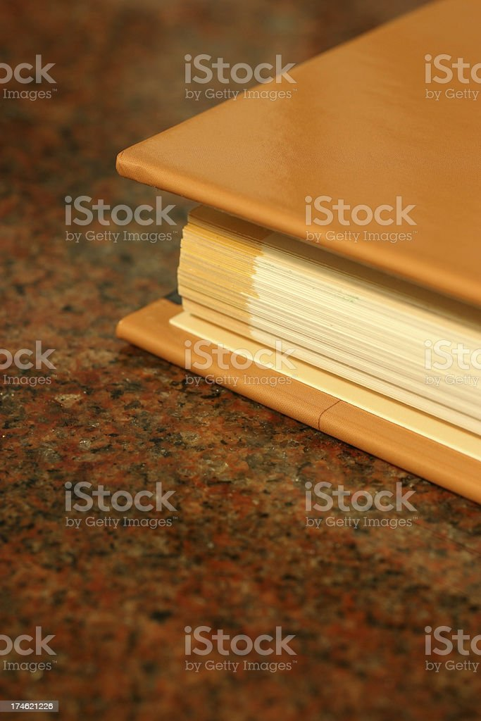 Hardcover Book royalty-free stock photo