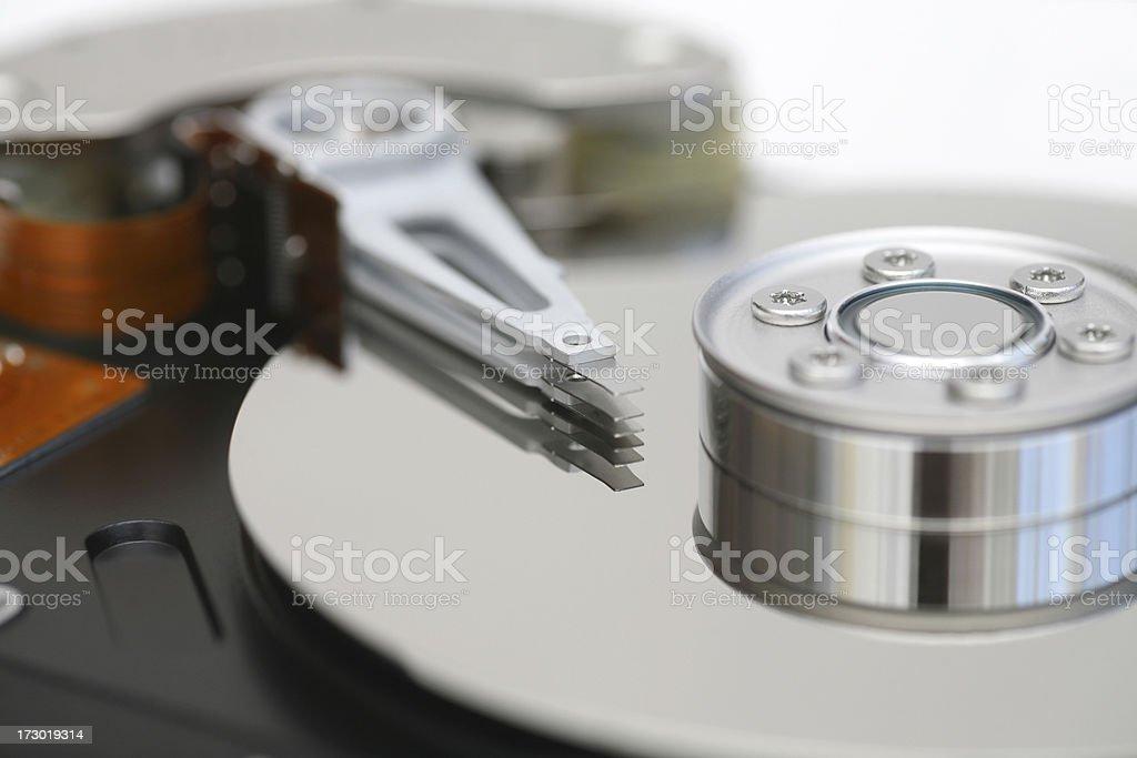 Harddisc stock photo