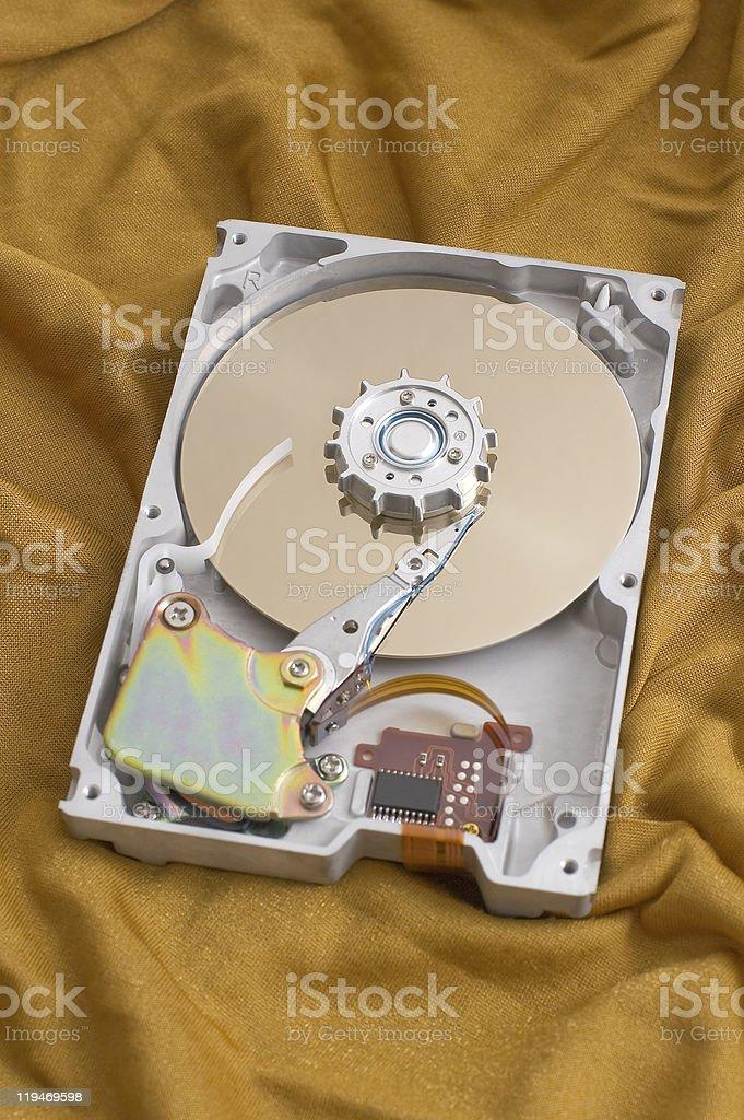 harddisk stock photo