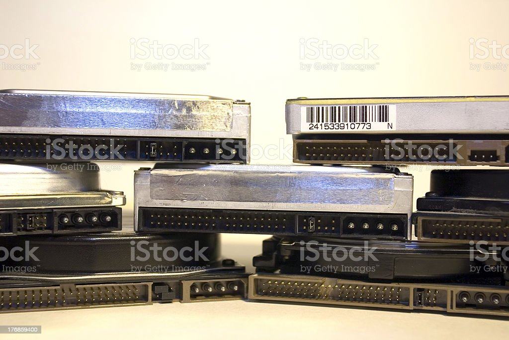 Harddisks royalty-free stock photo