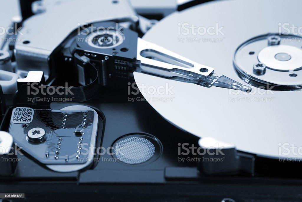 Hard-drive stock photo
