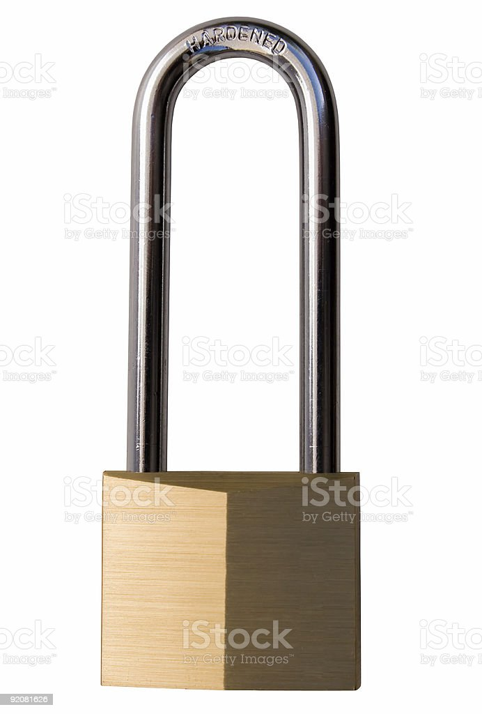 Hardened Lock royalty-free stock photo