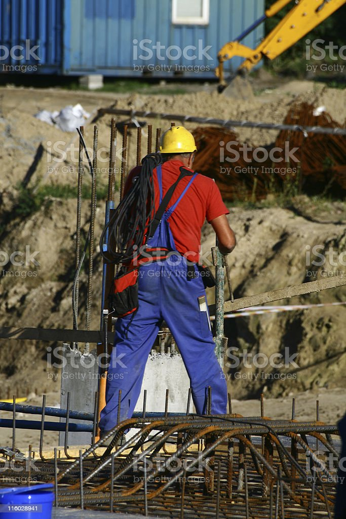 Hardhat is moving royalty-free stock photo