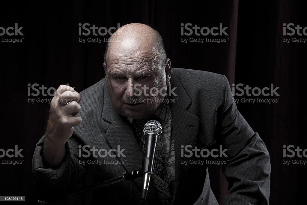 Hardlined Business Man stock photo