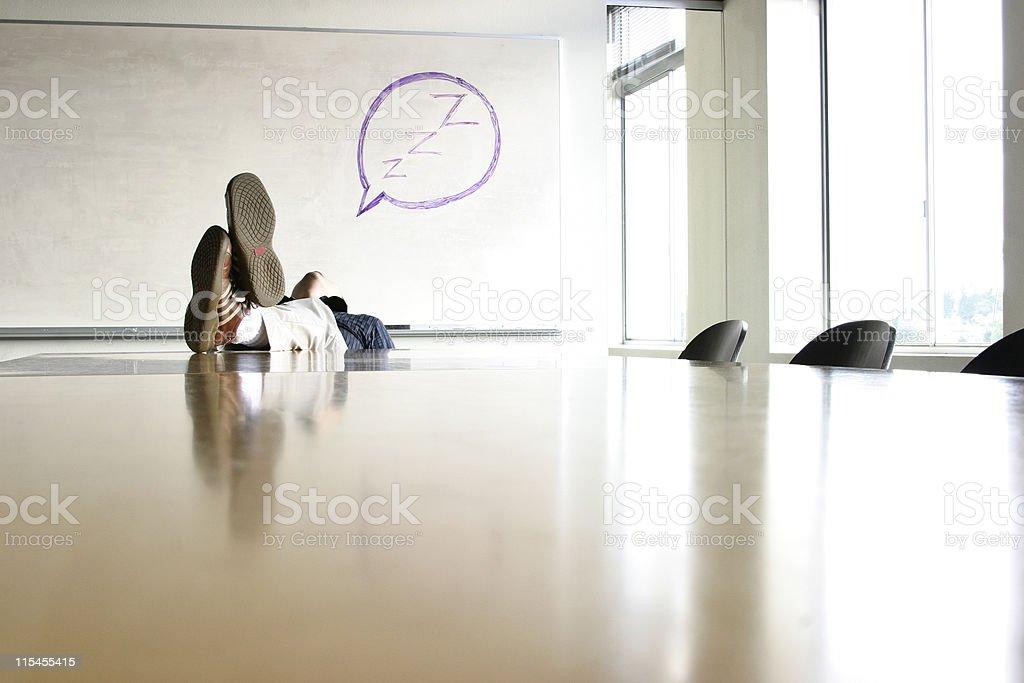 Hardly Working II stock photo
