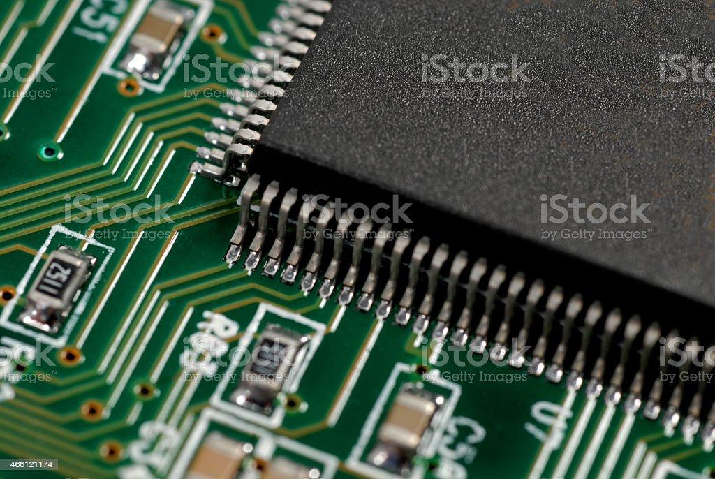 Hardrive Macro stock photo