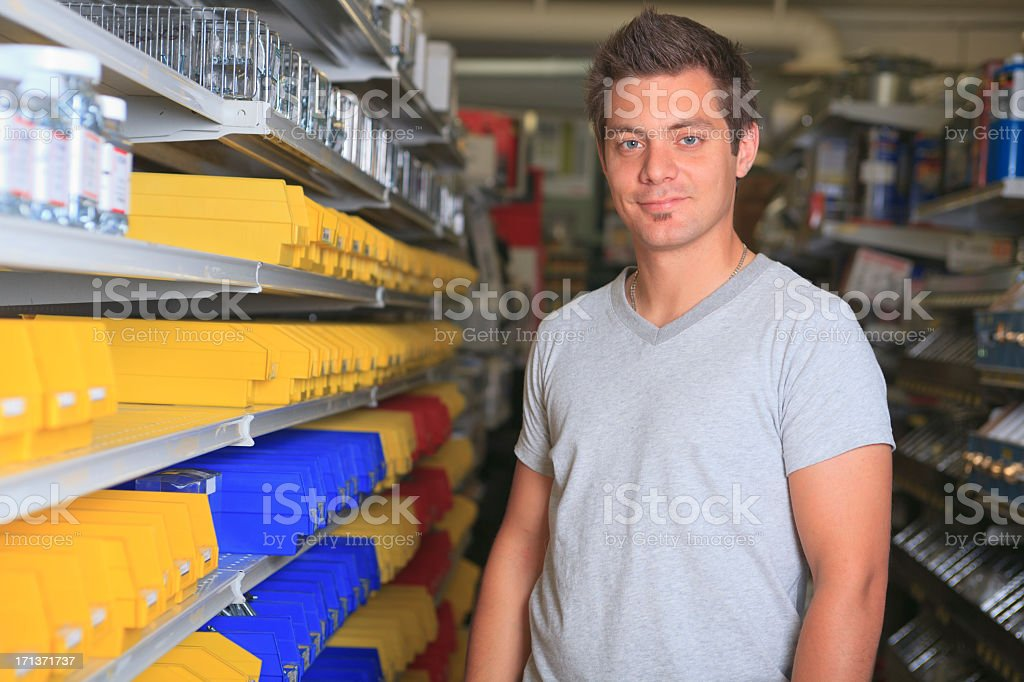 Hardware Client - Look at Camera royalty-free stock photo