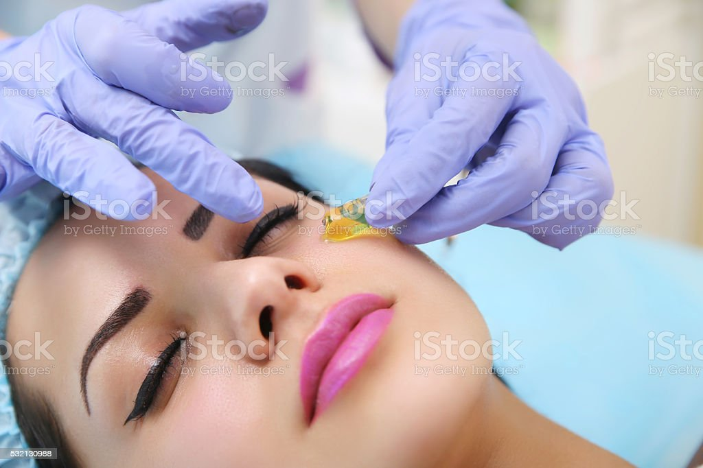 Hardware cosmetology a beauty parlour. royalty-free stock photo