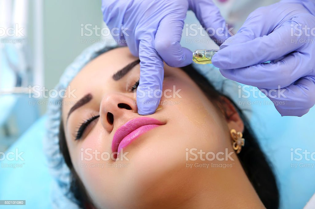 Hardware cosmetology a beauty parlour. royalty-free stock photo