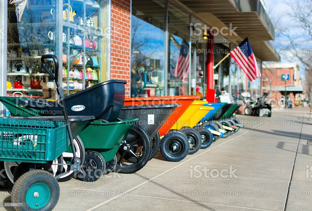 ACE Hardware, Fort Collins stock photo