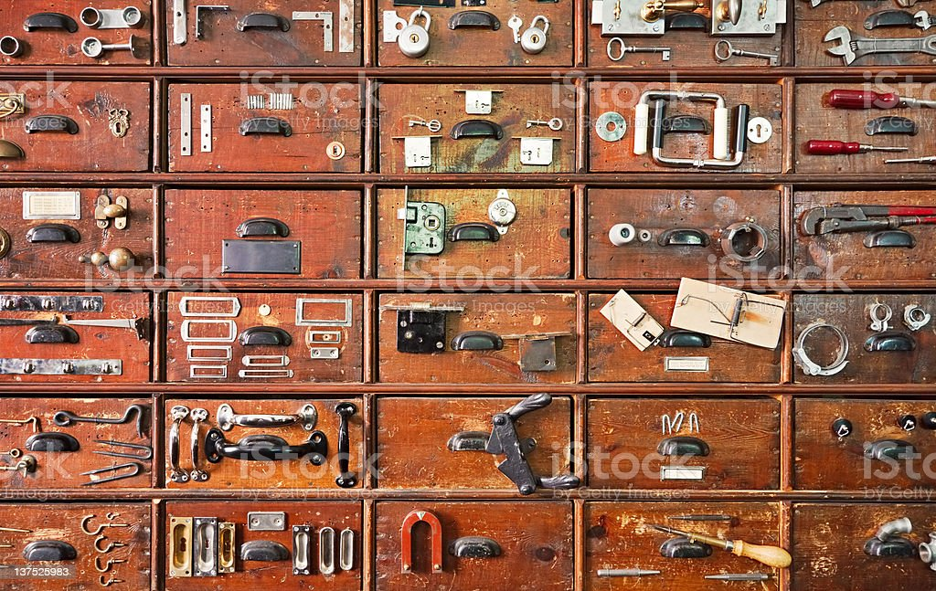 Hardware Store royalty-free stock photo