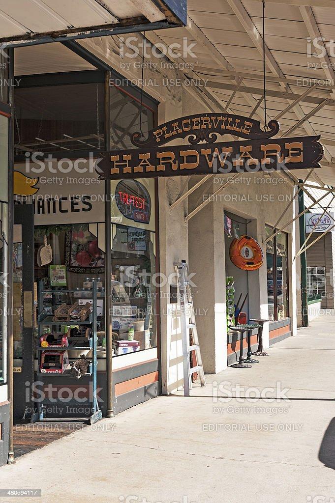 Hardware Store stock photo
