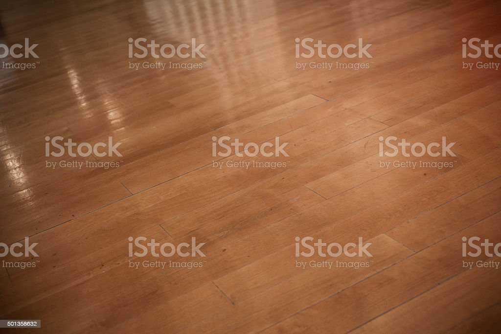 Hardwood Floor Background stock photo