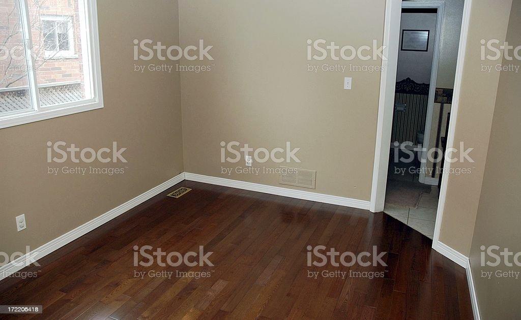 Hardwood Floor Installation - Complete royalty-free stock photo