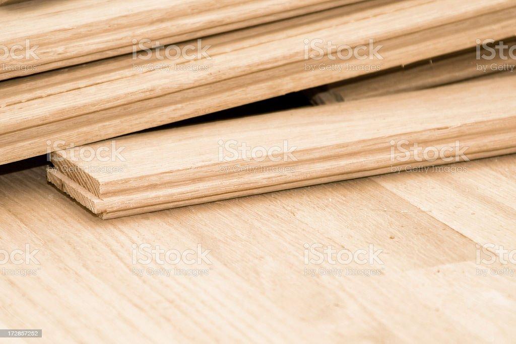Hardwood Flooring royalty-free stock photo