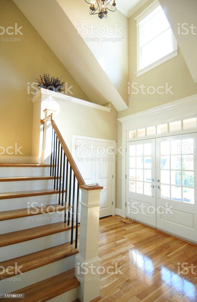 Hardwood Foyer royalty-free stock photo