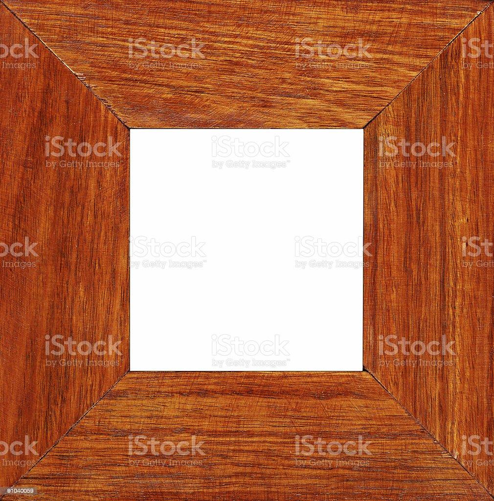 hardwood frame royalty-free stock photo