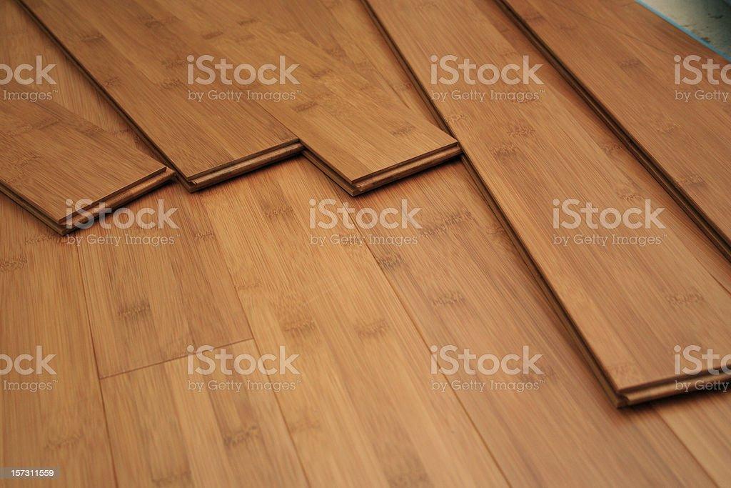 Hardwood Planks royalty-free stock photo