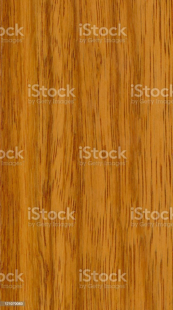 hardwood texture, exotic unstained cherry, vertical grains royalty-free stock photo